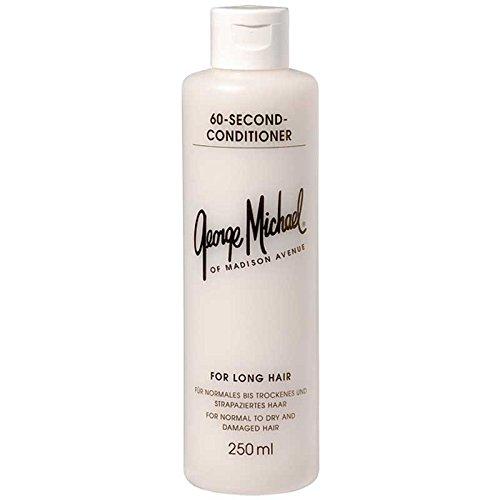 George Michael 60 Second Conditioner 250 ml 60 Sekunden Pflege mit 90% Feuchtigkeit und 10% Proteine