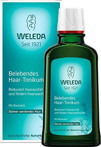 WELEDA Belebendes Haar-Tonikum, Naturkosmetik Haaröl zur Vermeidung von Haarausfall und Förderung von Haarwachstum, Pflege für kräftiges Haar und eine gesunde Kopfhaut (1 x 100 ml)
