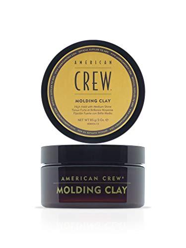AMERICAN CREW – Classic Molding Clay, 85 g, Stylingclay für Männer, Haarprodukt mit starkem Halt, Stylingprodukt für optimale Formbarkeit, Textur & natürlichen Glanz