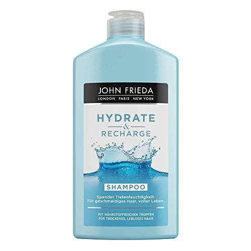 John Frieda Hydrate & Recharge - Shampoo - Spendet Tiefenfeuchtigkeit, 1er Pack(1 x 250 milliliters)