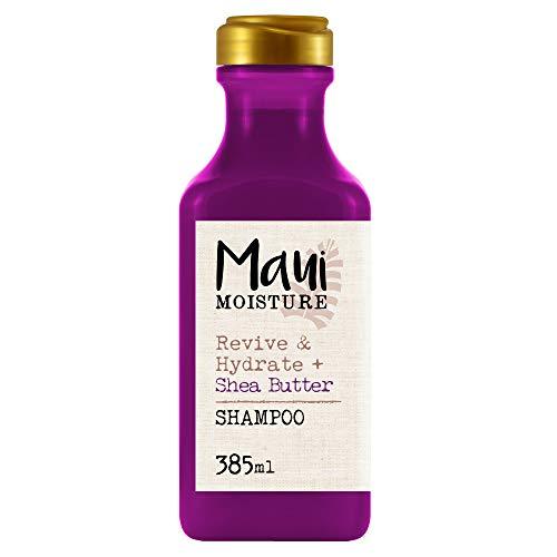 Maui Moisture Revive & Hydrate Shea Butter Shampoo, für trockenes geschädigtes Haar, 385 ml