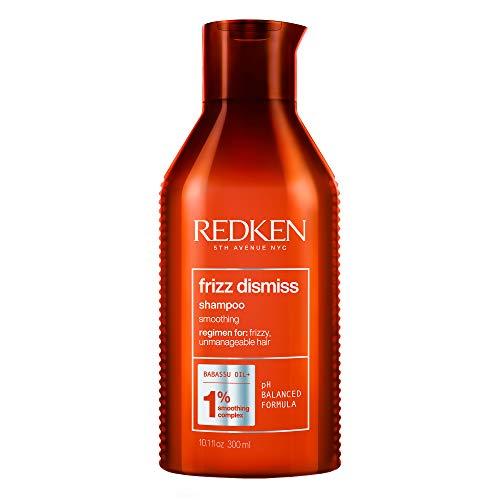 Redken | Haarshampoo mit Anti-Frizz-Effekt für widerspenstiges Haar, Mit Babassu-Öl und Smoothing Komplex, Frizz Dismiss Shampoo, 1 x 300 ml