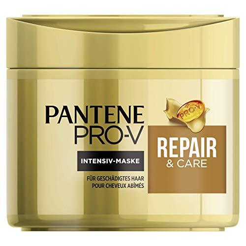 Pantene Pro-V Repair & Care Haarmaske, 300 ml, Haarkur Trockenes Haar, Haarkur, Haare Kur, Haarpflege Trockenes Haar, Haarpflege für Trockene Haare, Haarpflege Glanz, für Geschädigtes Haar, Gold