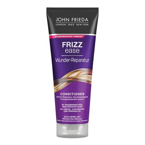 John Frieda Frizz Ease Wunder Reparatur Spülung/Conditioner - 1er Pack (1 x 250 ml) - repariert trockenes, hitzegeschädigtes und widerspenstiges Haar