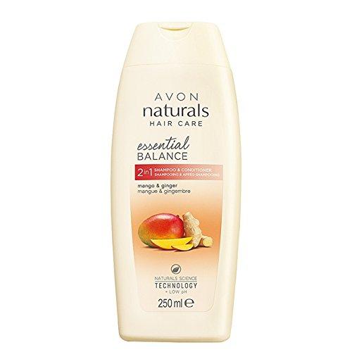 Avon Naturals Hair Care 2-in-1-Haarpflegeprodukt (Shampoo & Conditioner), mit Naturals Science-Technologie und niedrigem pH-Wert, 250 ml
