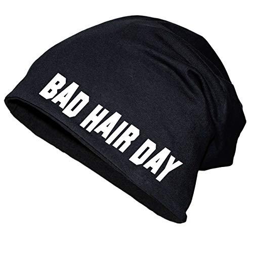 Spaß kostet Long Beanie Bad Hair Day Größe XS-XXL