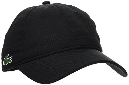 Lacoste Sport Herren Rk2447 Baseball Cap, Schwarz (Noir), One Size (Herstellergröße: TU)