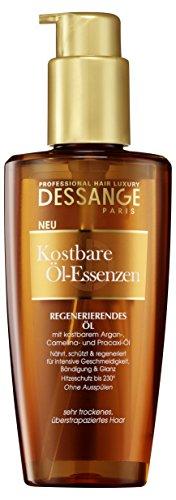 Dessange Haarpflege Kostbare Öl-Essenzen Öl, für sehr trockenes, überstrapaziertes Haar, 125 ml