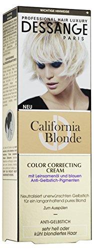 Dessange Haarpflege California Blonde Color Correcting Cream Anti-Gelbstich, 125 ml