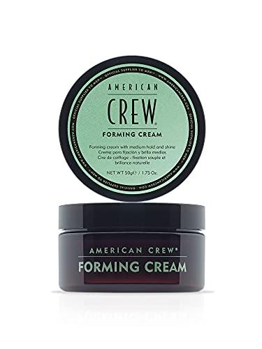 AMERICAN CREW – Forming Cream, 50 g, Stylingcreme für Männer, Haarprodukt mit mittlerem Halt, Stylingprodukt für flexibel formbares Haar & Finish mit natürlichem Glanz