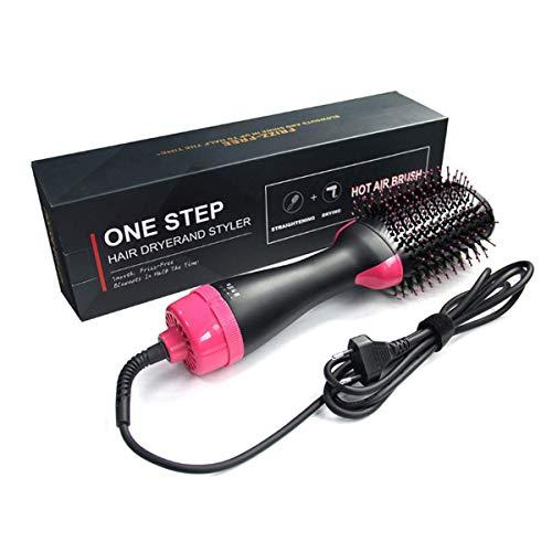 Haartrockner, 4 in 1 Upgrade Warmluftbürste Hair Dryer, Multifunktionaler Negativionen-Föhnbürste, Heißluftkamm für Alle Haartypen