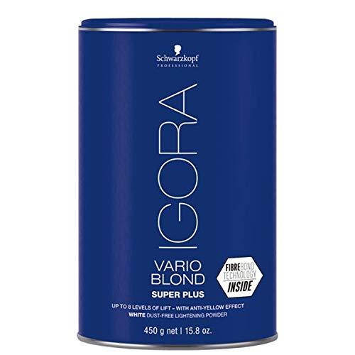 Schwarzkopf Professional Igora Vario Blond Super Plus, 1er Pack (1 x 450 g)
