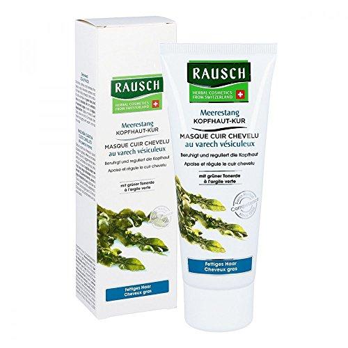 Rausch Meerestang Kopfhaut-Kur (entgiftet, beruhigt, erfrischt, Mildert Rötungen und Juckreiz, ohne Parabene - Vegan), 1er Pack (1 x 100 ml)