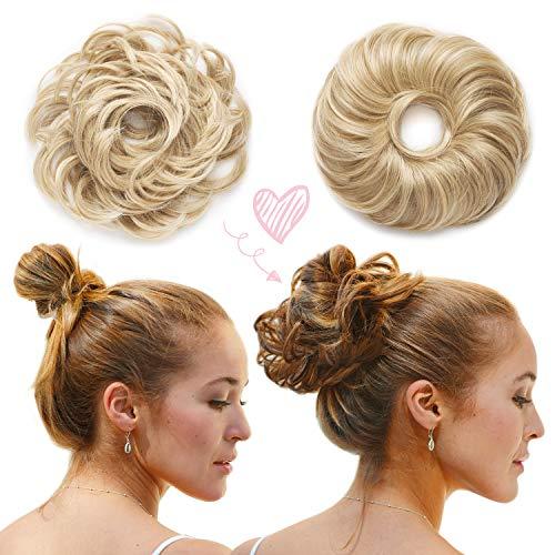 NEU: La Viora® Haarteil Haargummi 45g I 39 Farben I Swiss Quality & Sieger I Dutt Haarteil für den nächsten Bad Hair Day I Ready für die nächste Hochsteckfrisur jetzt mit La Viora Schweiz