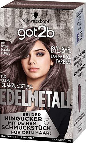 got2b Edelmetall, Haarfarbe M83 Urban Metallic Mauve, 143 ml