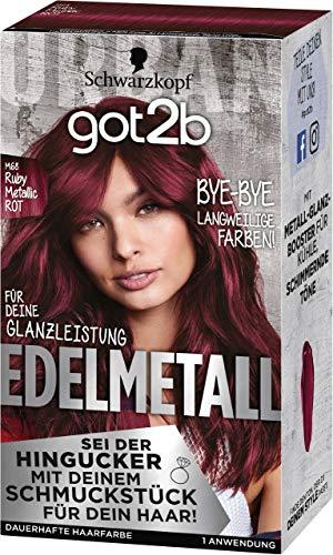 Got2b Edelmetall Ruby Metallic M68 Stufe 3, 143 ml