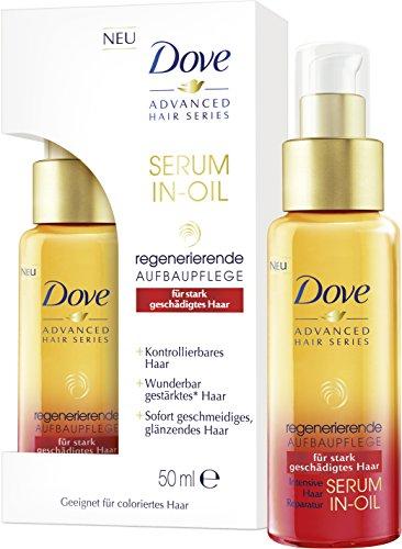 Dove Advanced Hair Series Serum in-Öl Regenerierende Aufbaupflege, 50 ml