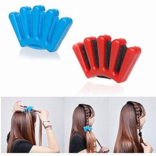 NUOLUX Haar Styling, DIY Haar Flechter Hairstyling Werkzeug, 2 Stück