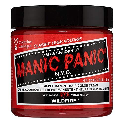 Manic Panic - Wildfire Classic Creme Vegan Cruelty Free Red Semi Permanent Hair Dye 118ml
