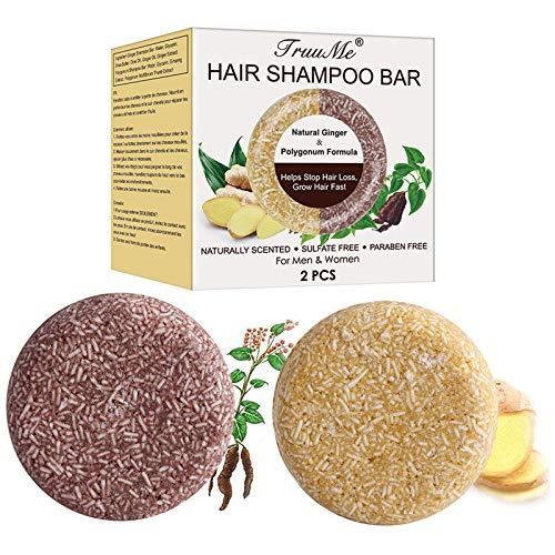 Haarwachstum Shampoo Bar, Anti Haarverlust Seife, Solid Shampoo Bar, Haar Shampoo Bar, Haar Seife, Hilft Gegen Haarausfall und fördert das Haarwachstum mit Natürliche pflanzliche ätherische Öle