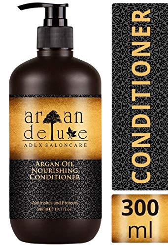 Argan Deluxe Conditioner in Friseur-Qualität 300 ml – stark pflegend mit Arganöl für Geschmeidigkeit & Glanz – für Damen und Herren