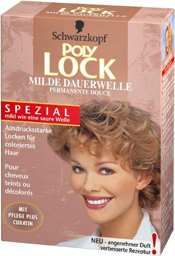 Poly Lock Milde Dauerwelle für coloriertes Haar, 1er Pack (1 x 160 ml)