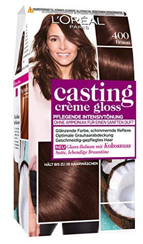 L'Oréal Paris Casting Crème Gloss Glanz-Reflex-Intensivtönung 400 in Braun