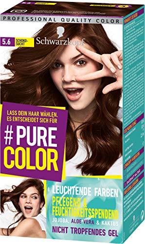 Schwarzkopf Pure Color Coloration 5.6 Schokosucht, 1er Pack (1 x 143 ml)