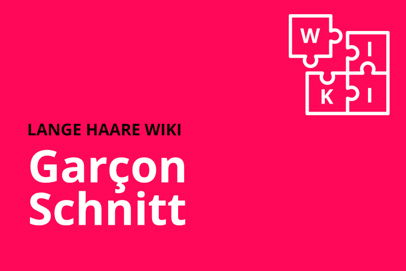 lange haare wiki Garcon Schnitt