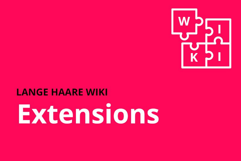 lange haare wiki extensions